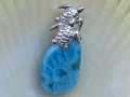 Double Turtle on Larimar