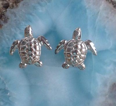 Sea Turtle-Post Earrings